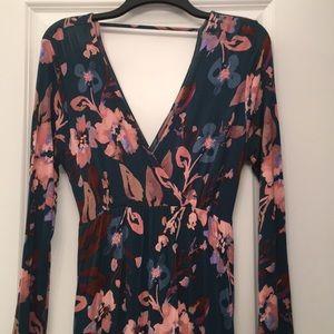Jessica Simpson floral Maternity Dress